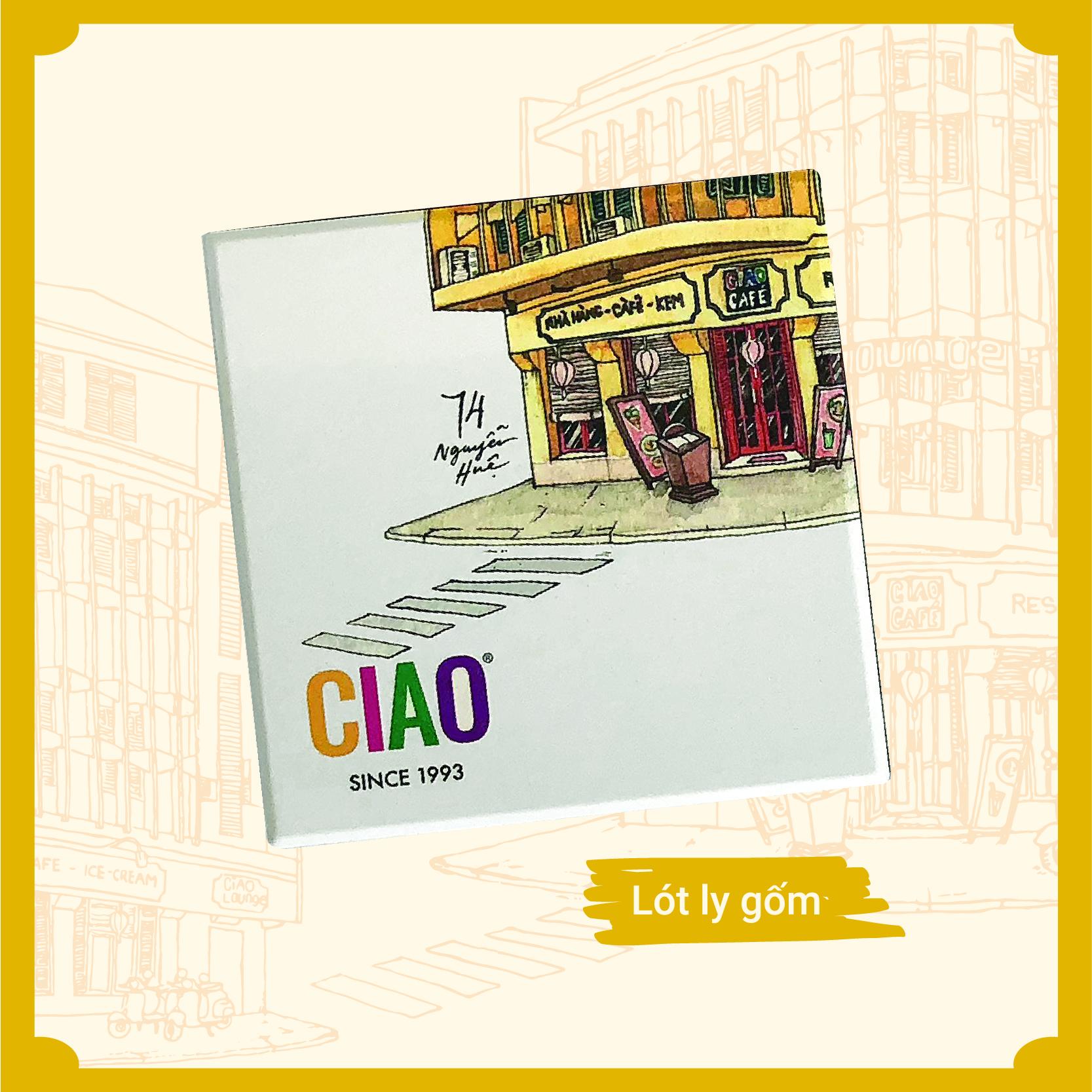 CIAO - Lót ly gốm (Lẻ)